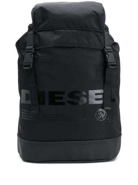 Рюкзак черный прямоугольный Diesel