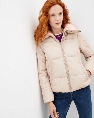 Утепленная куртка - бежевая B.style