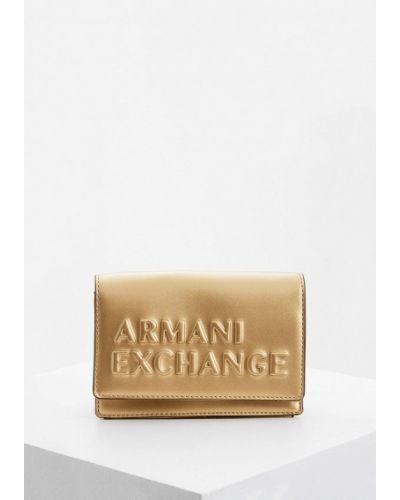 Сумка через плечо с перьями Armani Exchange