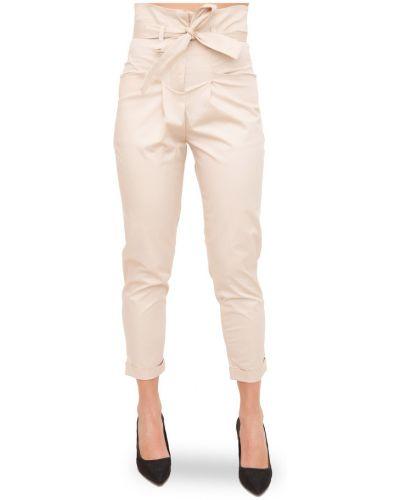 Beżowe spodnie Kocca