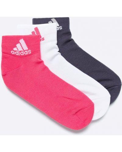 Розовые носки Adidas Performance