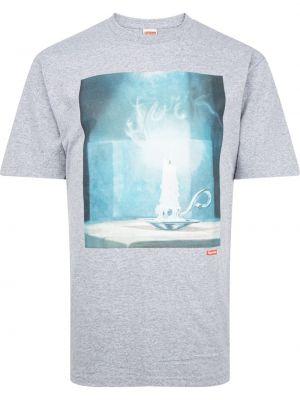 T-shirt krótki rękaw bawełniana z printem Supreme