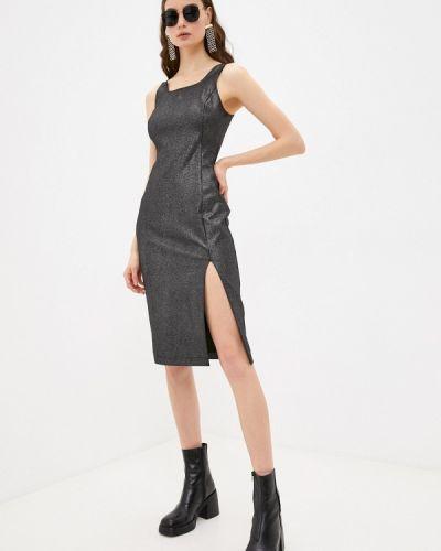 Джинсовое вечернее платье - черное Calvin Klein Jeans