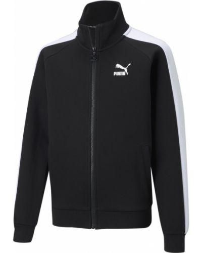Куртка на молнии - черная Puma