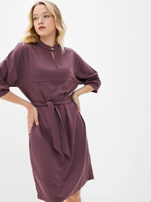 Прямое платье - фиолетовое Shovsvaro