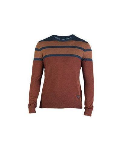 Коричневый свитер Armani Jeans