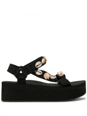 Sandały czarne otwarty Arizona Love