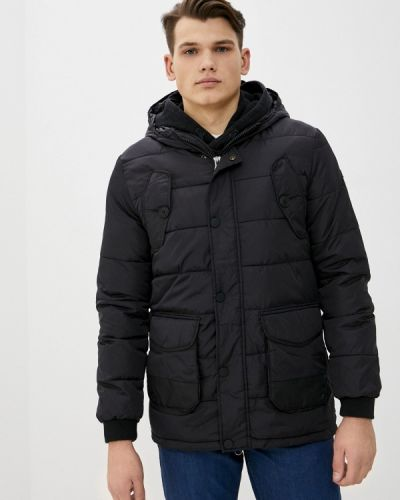 Черная утепленная куртка Rifle