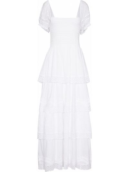 Biała sukienka długa bawełniana Loveshackfancy
