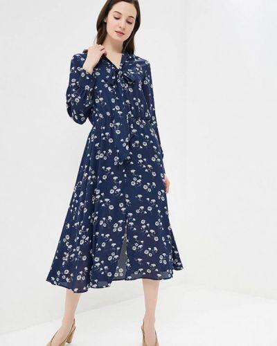 Платье - синее Solou