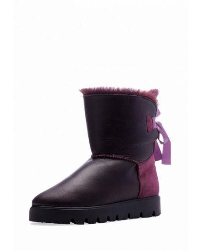 Фиолетовые угги натуральные Emmelie Delage