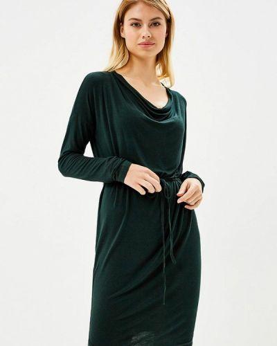 Платье с длинными рукавами льняное Gas