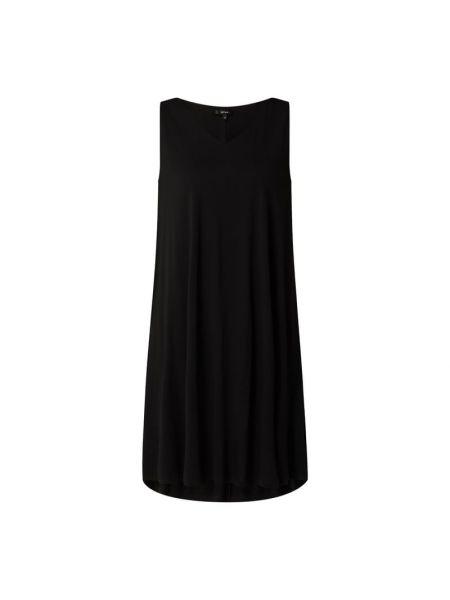 Sukienka rozkloszowana - czarna Opus
