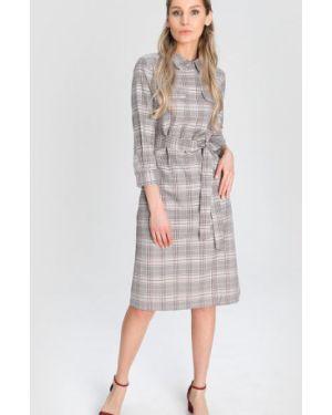Платье с поясом через плечо классическое Ostin