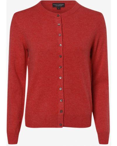 Różowy z kaszmiru sweter Franco Callegari