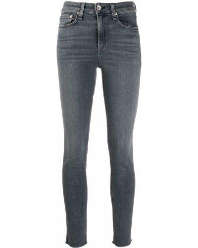 Зауженные джинсы - серые Rag & Bone/jean