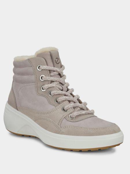 Повседневные ботинки из нубука Ecco