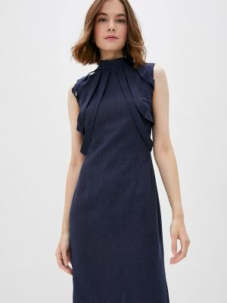 Синее платье Maurini