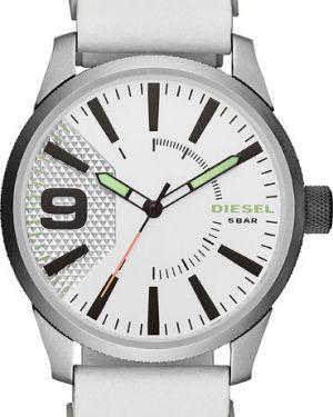 Кварцевые часы с кожаным ремешком силиконовые Diesel