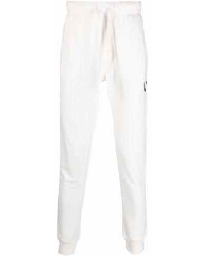 Хлопковые спортивные брюки - белые True Religion