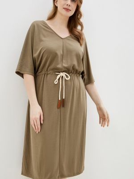 Повседневное платье зеленый весеннее Junarose