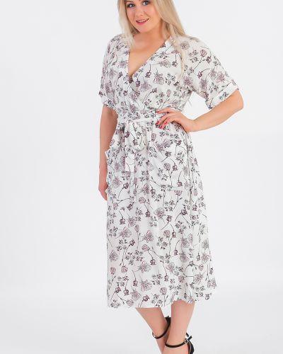Платье с поясом с запахом с цветочным принтом Lacywear