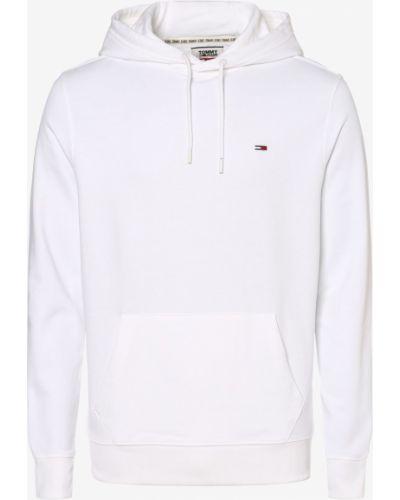 Biała bluza z kapturem Tommy Jeans