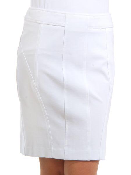 Юбка из вискозы - белая Cerruti 18crr81