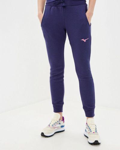 Фиолетовые спортивные брюки Mizuno