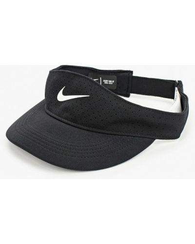 Черный козырек Nike