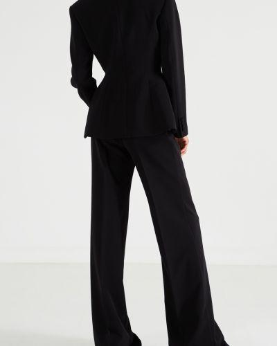Черный брючный костюм оверсайз на пуговицах Maison Bohemique