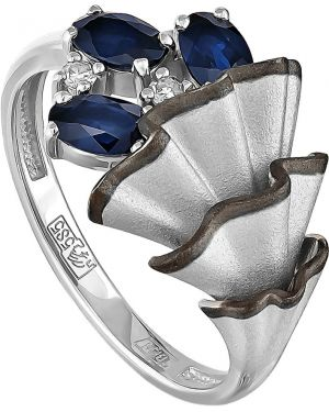 Кольцо из золота c сапфиром Kabarovsky
