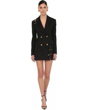 Платье на пуговицах двубортное Versace