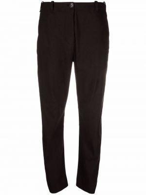 Spodnie z wysokim stanem z paskiem - czarne Rag & Bone