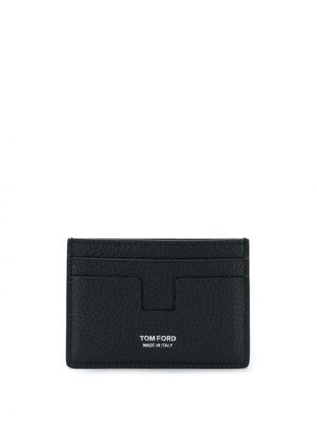 Niebieski portfel skórzany Tom Ford