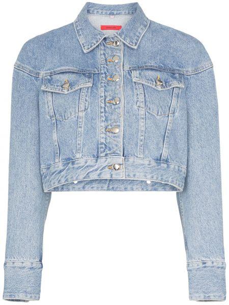 Черная джинсовая куртка Eckhaus Latta