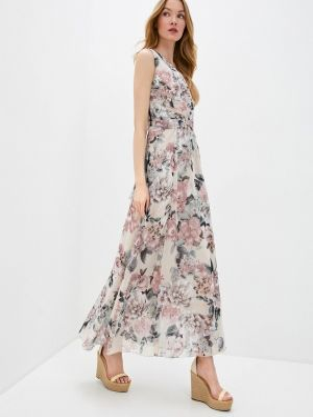 Платье прямое бежевое Rinascimento