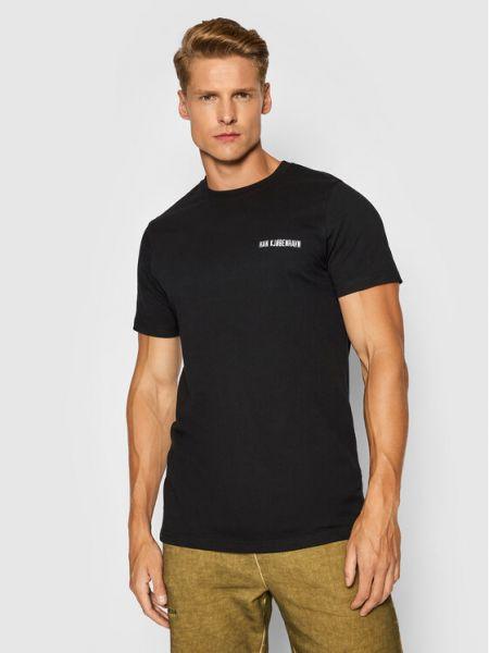 Czarna t-shirt Han Kjobenhavn