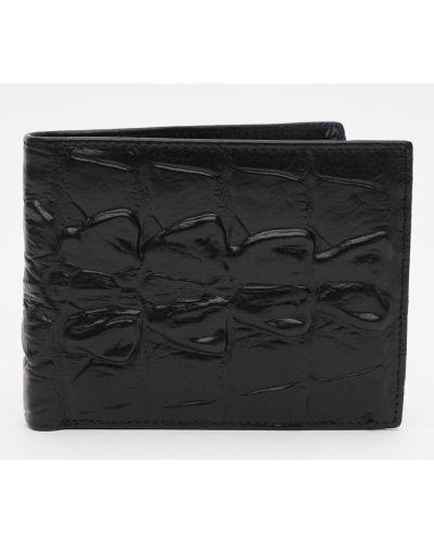 Кожаный портмоне - черный Palmera