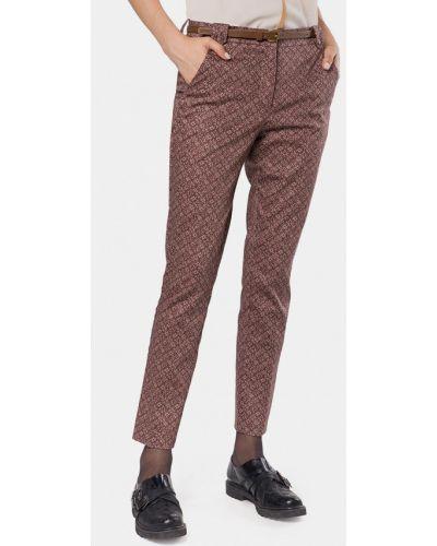 Коричневые брюки повседневные Mr520