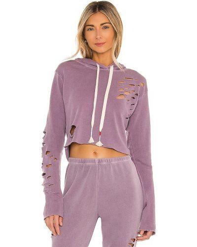Хлопковый свитшот - фиолетовый Wildfox Couture