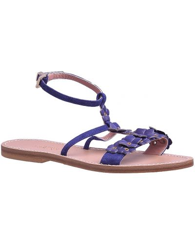 Синие сандалии Twin-set