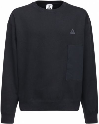 Prążkowana czarna bluza Nike Acg