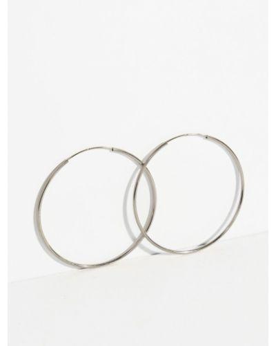 Серебряные серьги металлические серебряный Parfois