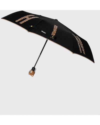 Зонт черный Moschino