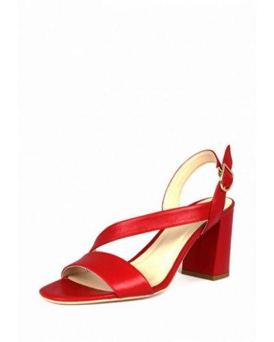 Босоножки на каблуке кожаные Blizzarini