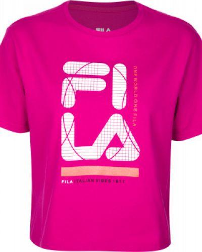 Спортивная футболка свободная хлопковая Fila