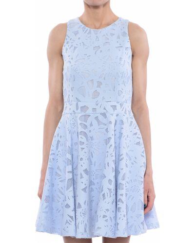 Платье из полиэстера - голубое Twin-set