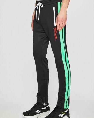 Прямые брюки трикотажные на молнии Diesel
