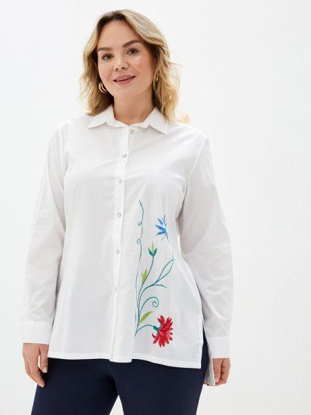 Белая рубашка Over